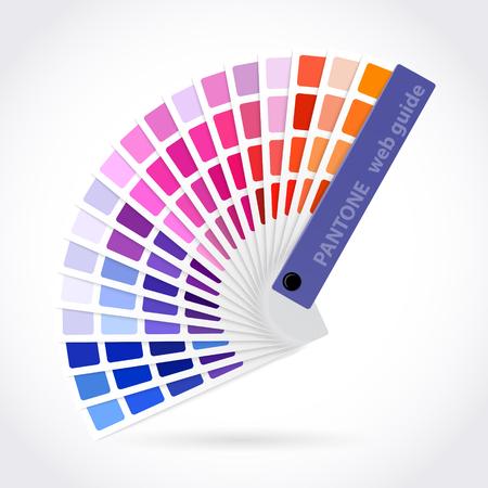 color swatch book: Color palette guide