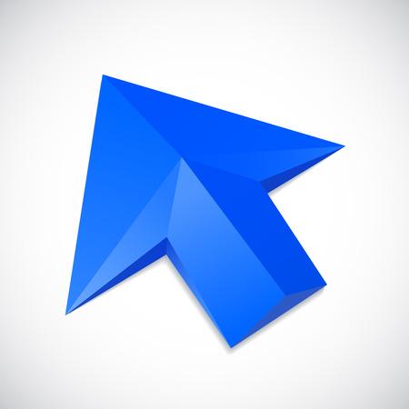 Vector arrow cursor Illustration