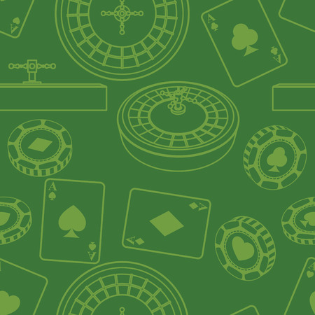 Seamless casino pattern