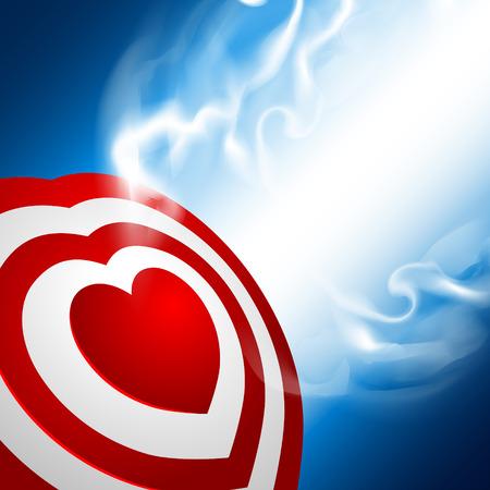 precisely: Heart target Illustration