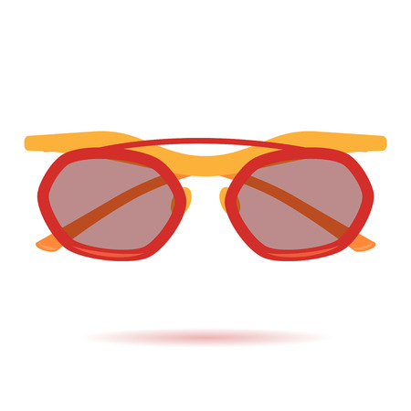 03: Flat Sunglasses Icon. Icon 03