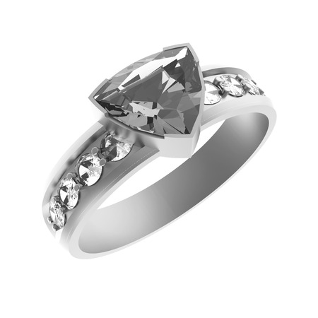 solitaire: Diamond solitaire engagement ring
