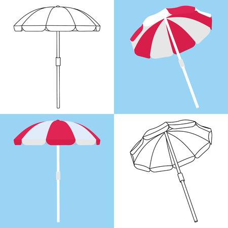 umbrella: Beach Umbrella