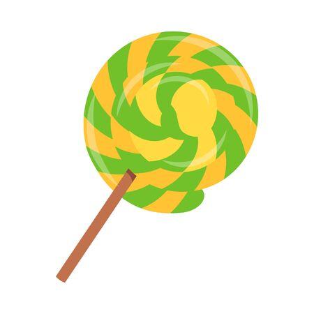 01: Lollipop flat icon 01