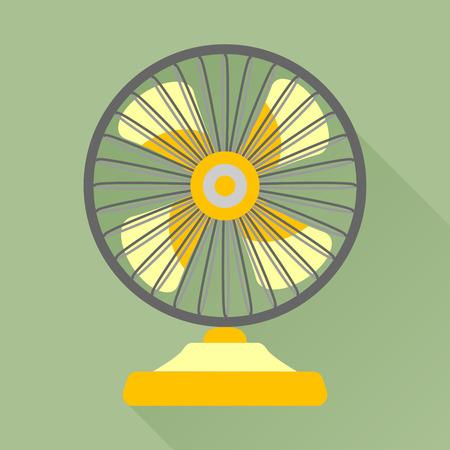 ventilator: Fan or ventilator icon Illustration