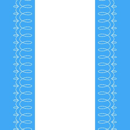 Vertical de fondo de tela con puntos de sutura