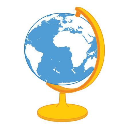 Vector Icono del globo