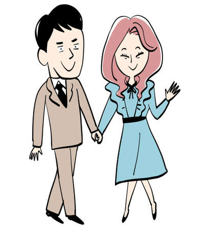 Businessmen and Their Female Partners