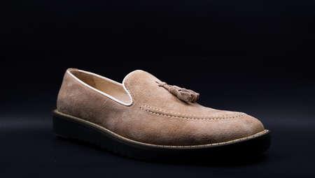 Men Footwear Stock Photo