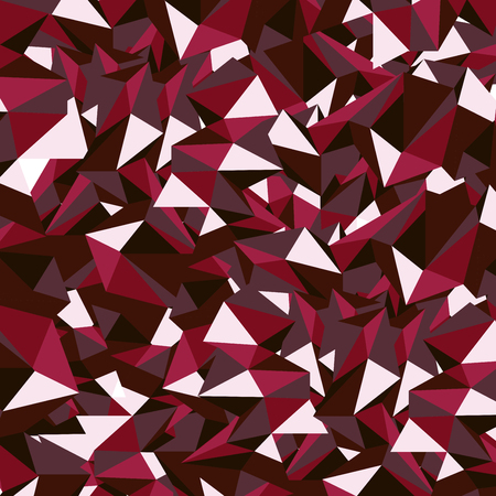 ruby: Ruby Red Polygon Vector Illustration