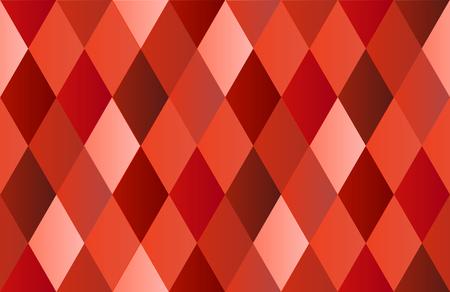 red diamond: Red Diamond Polygon Background Vector Illustration Illustration