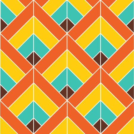 ボヘミアン カラフルなパターン背景ベクトル イラスト