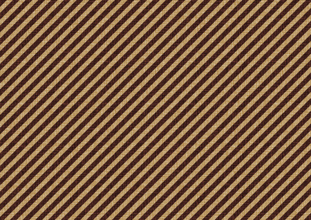 コーヒー茶色斜線背景イラスト  イラスト・ベクター素材