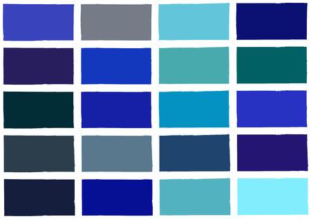 Blue Tone Color Shade Background Illustration Illustration