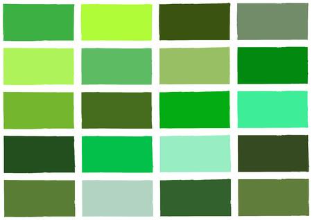 to shade: Green Tone Color Shade Background Illustration Illustration