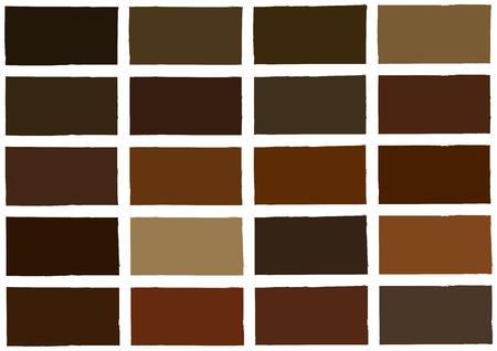 paleta de caramelo: Tono de color marrón sombra color de fondo Ilustración