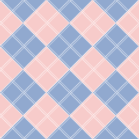 chequer: Rose Quartz Serenity Diamond Chessboard Background Vector Illustration Illustration