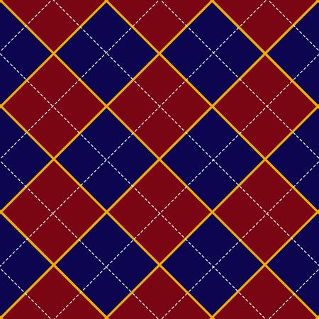 royal blue: Red Royal Blue Diamond Background Vector Illustration Illustration