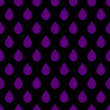 drops of water: Purple Black Water Drops Background Vector Illustration