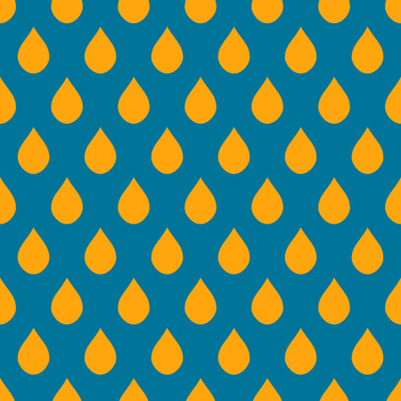 orange water: Blue Orange Water Drops Background Vector Illustration