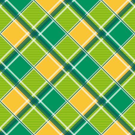 chessboard: Yellow Green White Diamond Chessboard Background Illustration