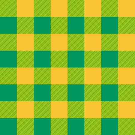 gold table cloth: Yellow Green Chessboard Background Illustration