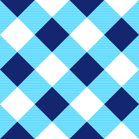 diamond background: Blue White Diamond Chessboard Background