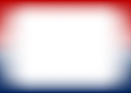 Red Navy Blue Copyspace Background Vector Illustration 일러스트