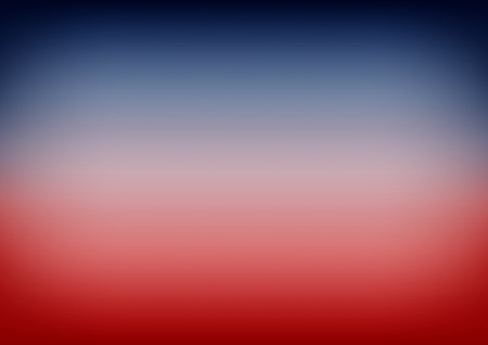 patriotic background: Red Navy Blue Gradient Background Vector Illustration