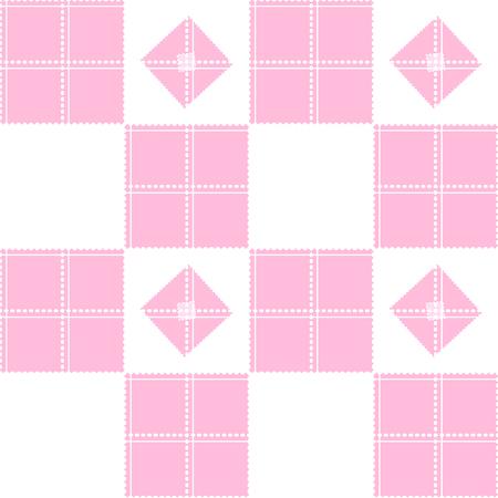 chessboard: Chessboard Pink Background Vector Illustration