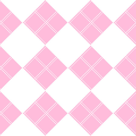 chequer: Chessboard Pink Background Vector Illustration