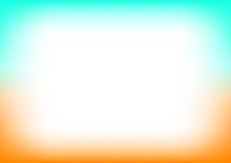 Orange Blue Copyspace Background Vector Illustration 矢量图像