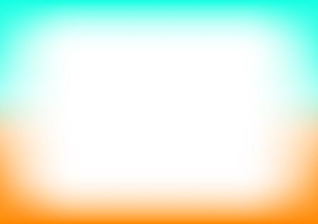 Orange Blue Copyspace Background Vector Illustration Stock Illustratie