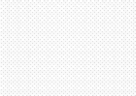 Black Dots White Background Vector Illustration Vettoriali
