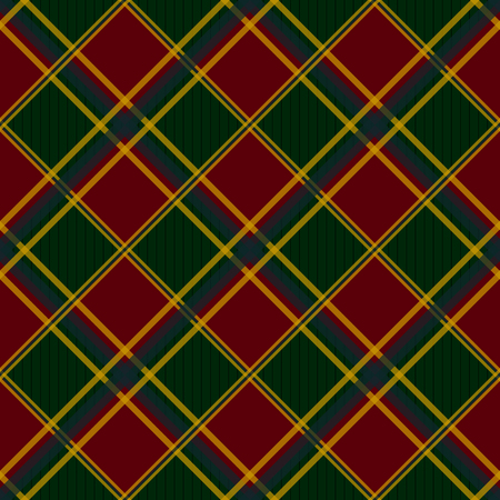 chequer: Red Green Chessboard Diamond Background Vector Illustration