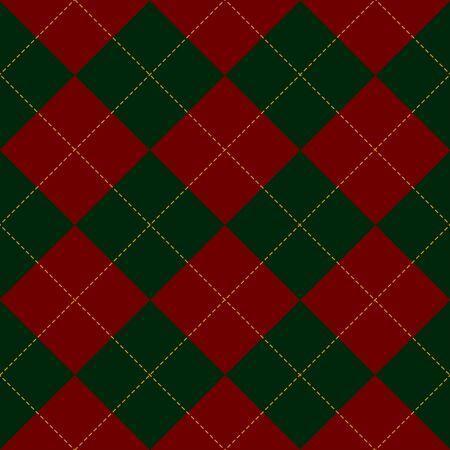 red diamond: Green Royal Red Diamond Background Vector Illustration Illustration