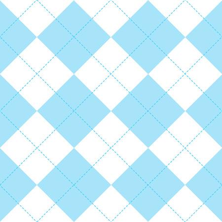 Sfondo Di Diamante Blu Bianco Illustrazione Vettoriale