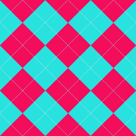 corazones azules: Cielo Azul Rosa Diamante ilustración vectorial