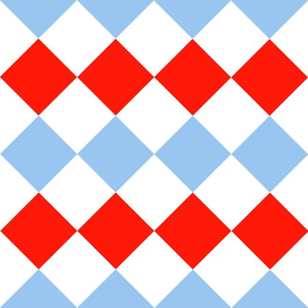 chequer: Blue Serenity Red White Diamond Background Vector Illustration Illustration