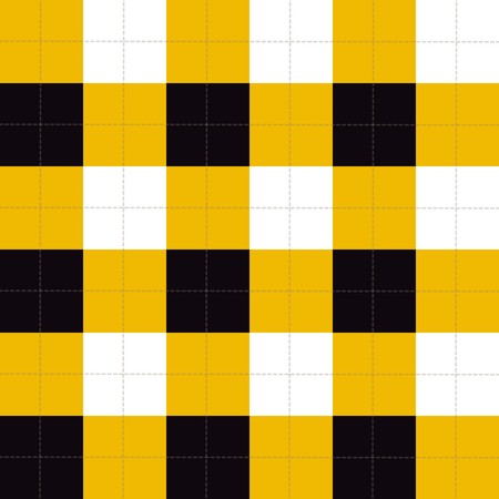chequer: Lines Dots Yellow Black White Chessboard Background Vector Illustration