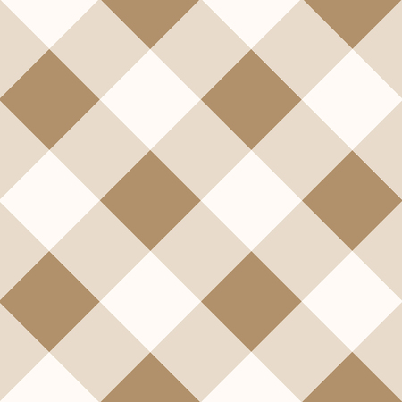 iced: Iced Coffee Brown White Diamond Chessboard Background Vector Illustration