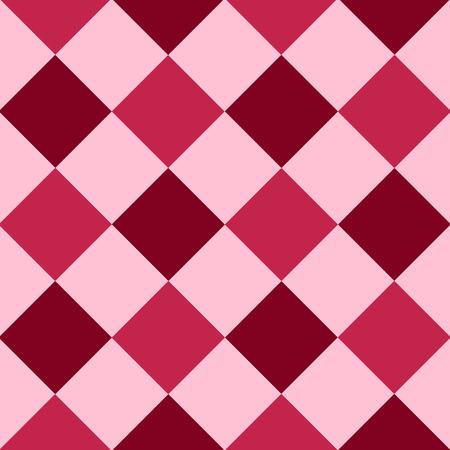 Pink Red Purple Diamond Chessboard Background Vector Illustration Ilustrace