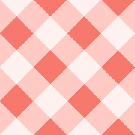 echo: Peach Echo White Diamond Chessboard Background Vector Illustration