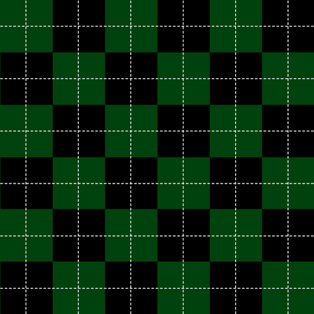 green and black: Green Black White Chess Board Background Vector Illustration Illustration