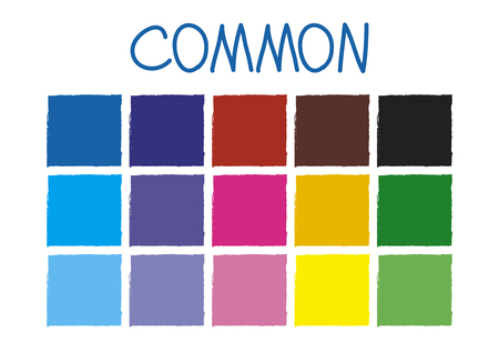 tone: Common Color Tone without Code Vector Illustration Illustration