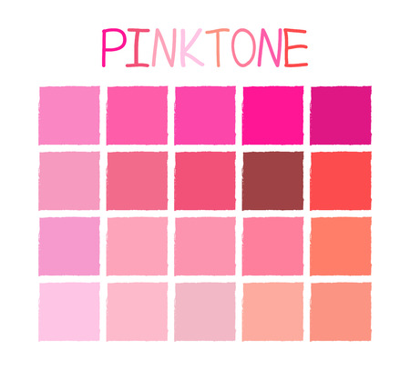 rosewood: Pinktone Color Tone without Name Vector Illustration