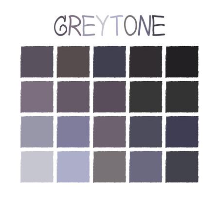 ash cloud: Greytone Color Tone without Name Illustration