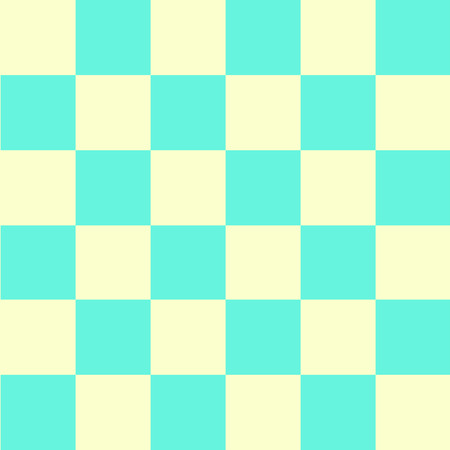 aqua background: Green Yellow Chess Board Background Vector Illustration