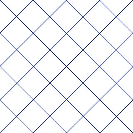navy blue background: Navy Blue Grid White Diamond Background Vector Illustration