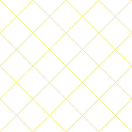 Yellow Grid White Diamond Background Vector Illustration